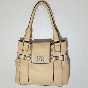 Banana Republic purse shoulder bag beige leather